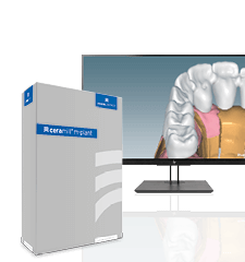 Abutment software module for dental laboratories