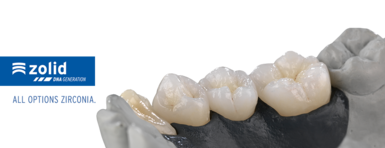 Zirconia for esthetic restorations for dental laboratories